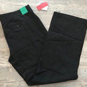Ellen Tracy Active Women's Black Dress Pants Sz 12